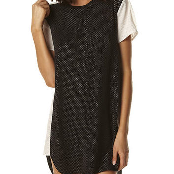 CAMILLA AND MARC STOP AND STARE DRESS - BLACK WHITE