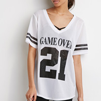 Game Over Mesh Tee