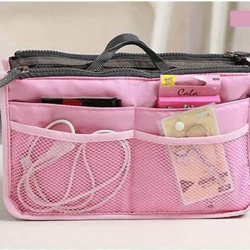 Fashion Make Up Organizer Bag Women Men Travel Functional Cosmetic Bags Storage Makeup Wash Kit Necessaire Handbag Cases