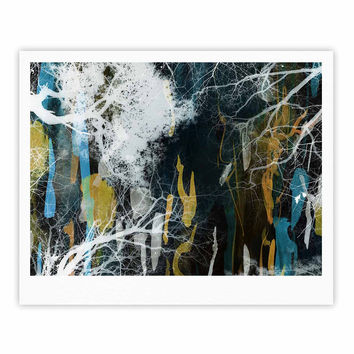 "Iris Lehnhardt ""Tree Of Life"" Abstract Blue Fine Art Gallery Print"