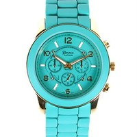 SALE-Turquoise Over-sized Watch