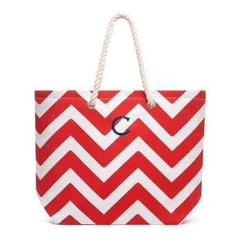 Extra Large Cabana Tote Bag - Red (Pack of 1)