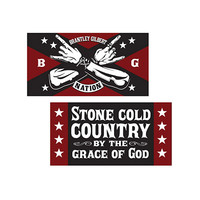 Brantley Gilbert Official Store | Crossed Arms Flag