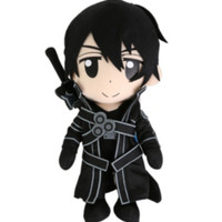 "Sword Art Online 9"" Kirito Plush"