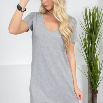 Running Gal Grey Dress