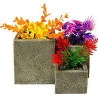 Blue Ribbon Pet Products - Square Flower Pot Garden
