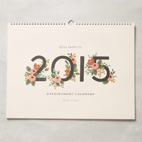 Gardenia 2015 Desk Calendar by Rifle Paper Co. White One Size Office