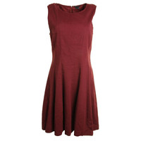 Theory Womens Tilifi Linen Sleeveless Wear to Work Dress