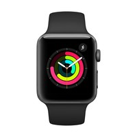 Apple Watch Series 3 GPS with Black Sport Band