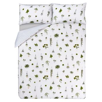 Plants Print Duvet Cover | Home & Garden | George