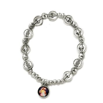 Religious, Inspirational and Catholic Gifts, Rosary Bracelet Divine Mercy