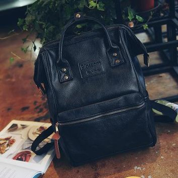 School Backpack Vintage shoulder Bag kanken Leather Backpack Women School Bag For Teenager Girls Backpacks Schoolbag sac Travel mochila escolar AT_48_3