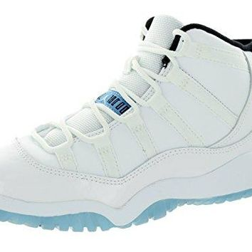 Nike Jordan Kids Jordan 11 Retro Bp White/Legend Blue/Black Basketball Shoe 1.5 Kids US  Jordan 11