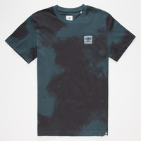 Adidas D2d Aop Mens T-Shirt Midnight Blue  In Sizes