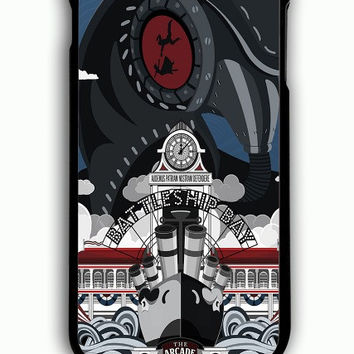 iPhone 6S Plus Case - Hard (PC) Cover with Bioshock Infinite Poster Plastic Case Design