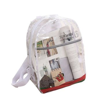 new PVC Transparent Backpack for man