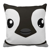 Emperor Penguin Chick Pillow