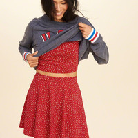 Girls Knit Skater Skirt | Girls Dresses & Rompers | HollisterCo.com