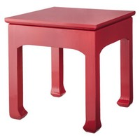 Three Hands Coral Accent Table