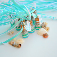 Mermaid 10 Necklaces, Fairy Tale, Mermaid dust, Tiny, Mermaid Party Favors