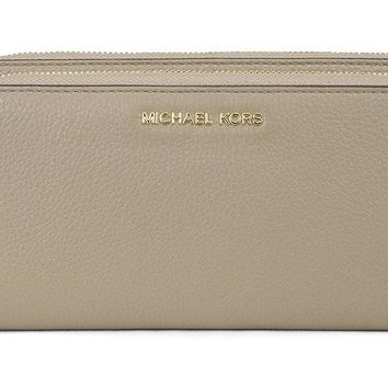 MICHAEL Michael Kors Adele Double-Zip Wallet