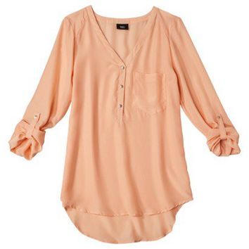 Mossimo® Women's Long Sleeve Blouse - Assorted Colors