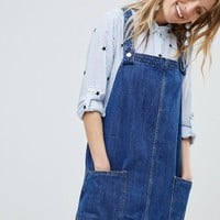 Mango Overall Dress at asos.com