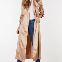 Investments Satin Duster Coat