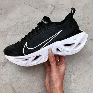 NIKE ZOOM X VISTA GRIND WOMEN MAN SPORTS DIAMOND SOLE Rhomboid Black White