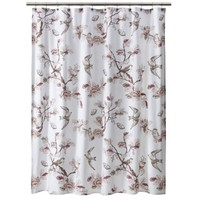 Threshold™ Shower Curtain Bird - Pink