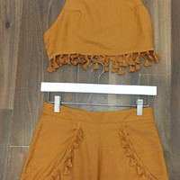 Two-Piece Shorts Set 1222