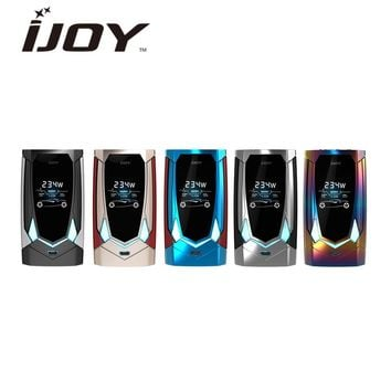 Newest Original 234W IJOY Avenger 270 Voice Control TC Box MOD with Huge Screen & Resistance Range 0.05-3.0ohm E-cig Vape Mod