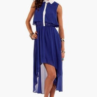 Tiered Shirt Dress $60