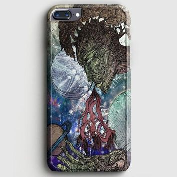 Trippy Psychedelic Space Galaxy iPhone 7 Plus Case