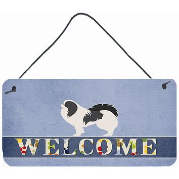 Japanese Chin Welcome Wall or Door Hanging Prints BB5541DS812