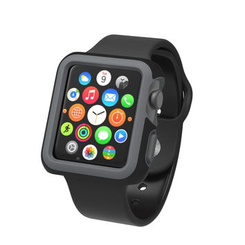 SPECK SPK-A4135 Apple Watch(R) 42mm CandyShell(R) Fit Case (Black/Slate Gray)