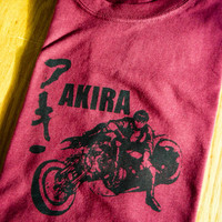 Akira Inspired Screenprinted T-Shirt