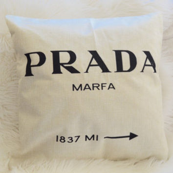PRADA Pillowcase