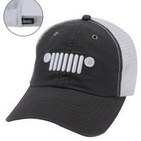 Jeep Grille Logo Hat | Hats & Caps | Jeep Apparel | My Jeep Accessories