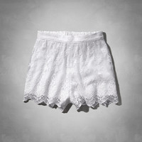 Lace Culotte Shorts