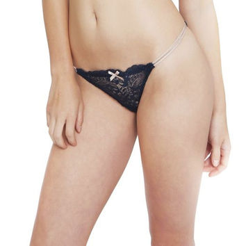 Eberjey: Everly Thong - Infinity Blue