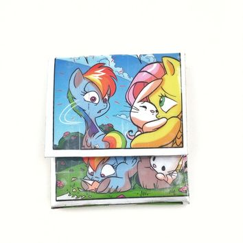 Slim Women's Credit Card Wallet, My Little Pony MLP Rainbow Dash Gifts