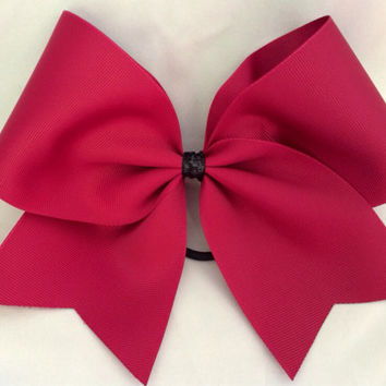 Practice Cheer Bow - Red