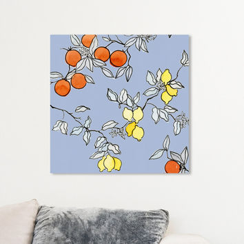 Lemon Tree Canvas Art