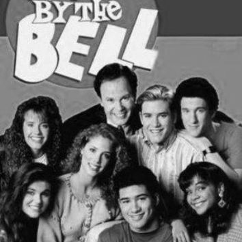 Saved By The Bell Poster Standup 4inx6in black and white