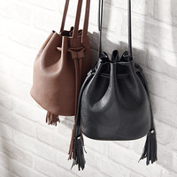 Chic Tassels Messenger Bags Stylish Bags Shoulder Bag [8211108807]