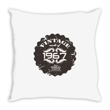 vintage made of 1967 all original parts Throw Pillow