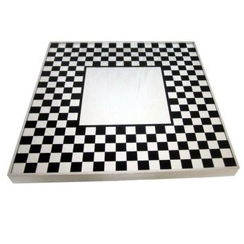 Pre-owned Mod Op Art Wall Mirror Panton/Copeland Style