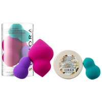 Sephora: SEPHORA COLLECTION : Perfect & Cleanse: Sponge Trio and Cleaner Set : skin-care-sets-travel-value