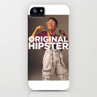 Original Hipster iPhone & iPod Case by LookHUMAN